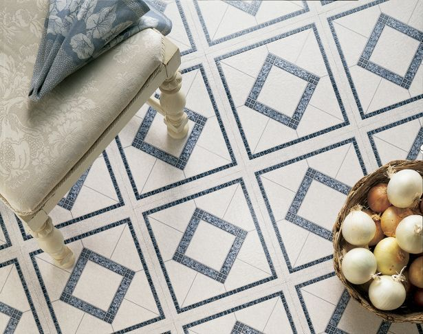 Decorative Vinyl Floor Tiles Celano Twilight Blue  Epiq Plus Seriesarmstrong  Armstrong