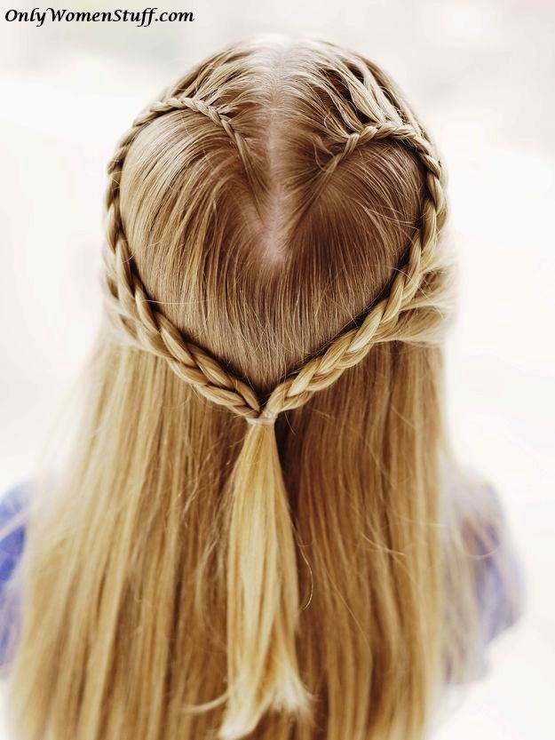 Easy And Simple Hairstyles Cute Hairstyles Simple Hairdos Easy Hairstyles Beautiful Hairstyles Latest Hairstyles Im Hair Styles Heart Hair Cool Hairstyles