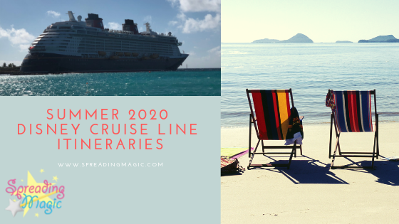 Disney Cruise Summer 2020.Summer 2020 Disney Cruises Available For Booking Beginning