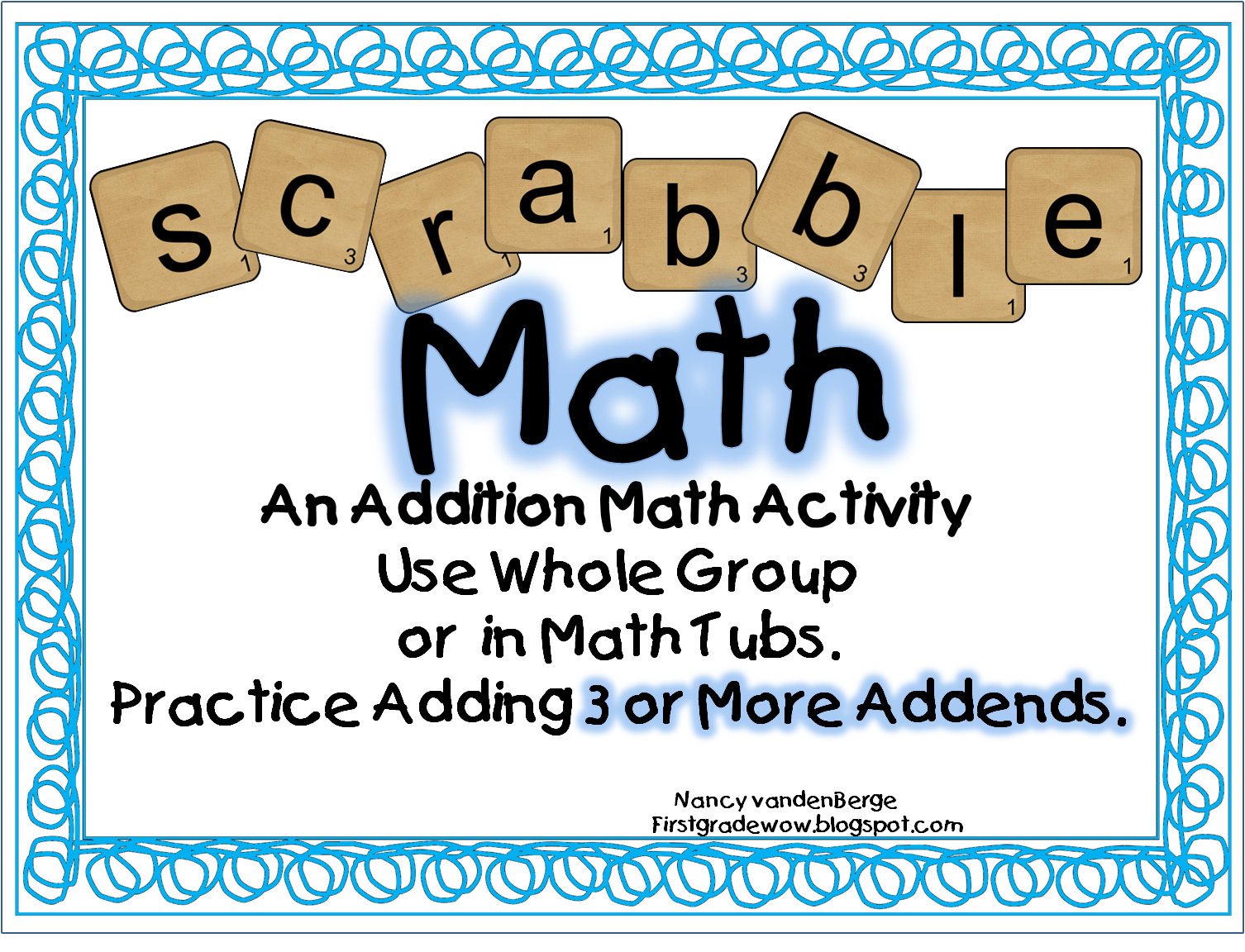 Awesome Math Activity For Adding 3 Or More Addends Free