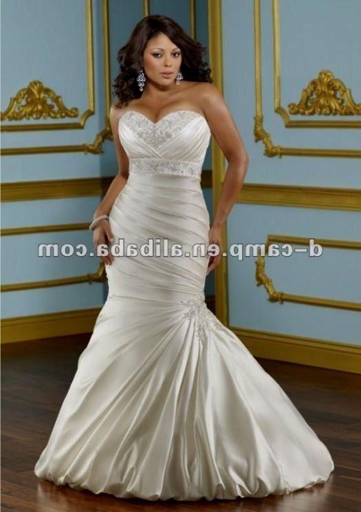Fit And Flare Wedding Dress Plus Size 2016 2017 B2B Fashion