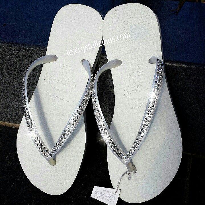 797c55c65a522 Crystalicious® Havaianas embellished with Genuine SWAROVSKI ...