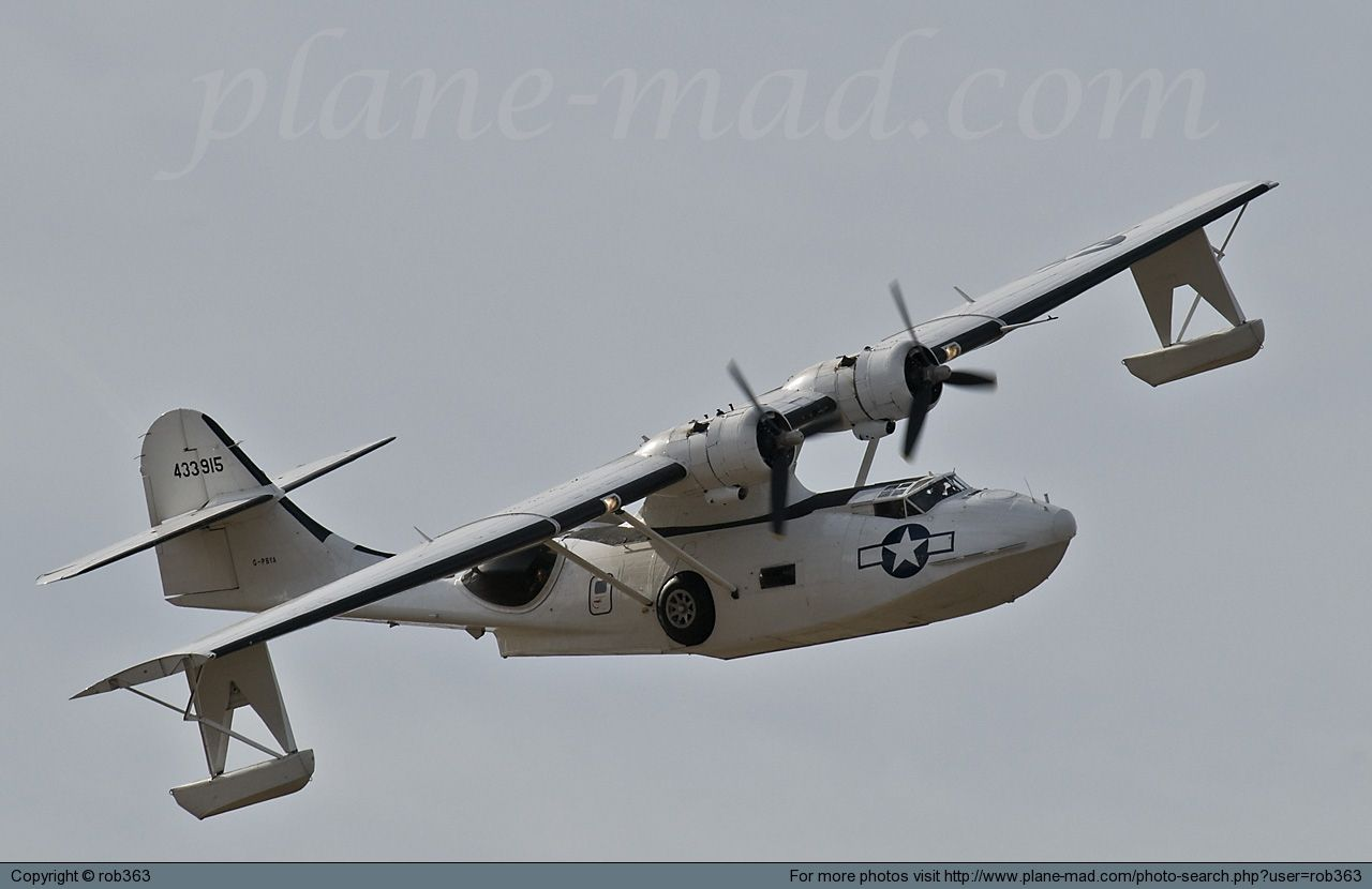 Pby Catalina Amphibious Aircraft Aircraft Flying Boat
