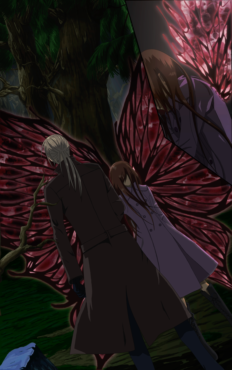Image result for yuki kuran with butterfly wings