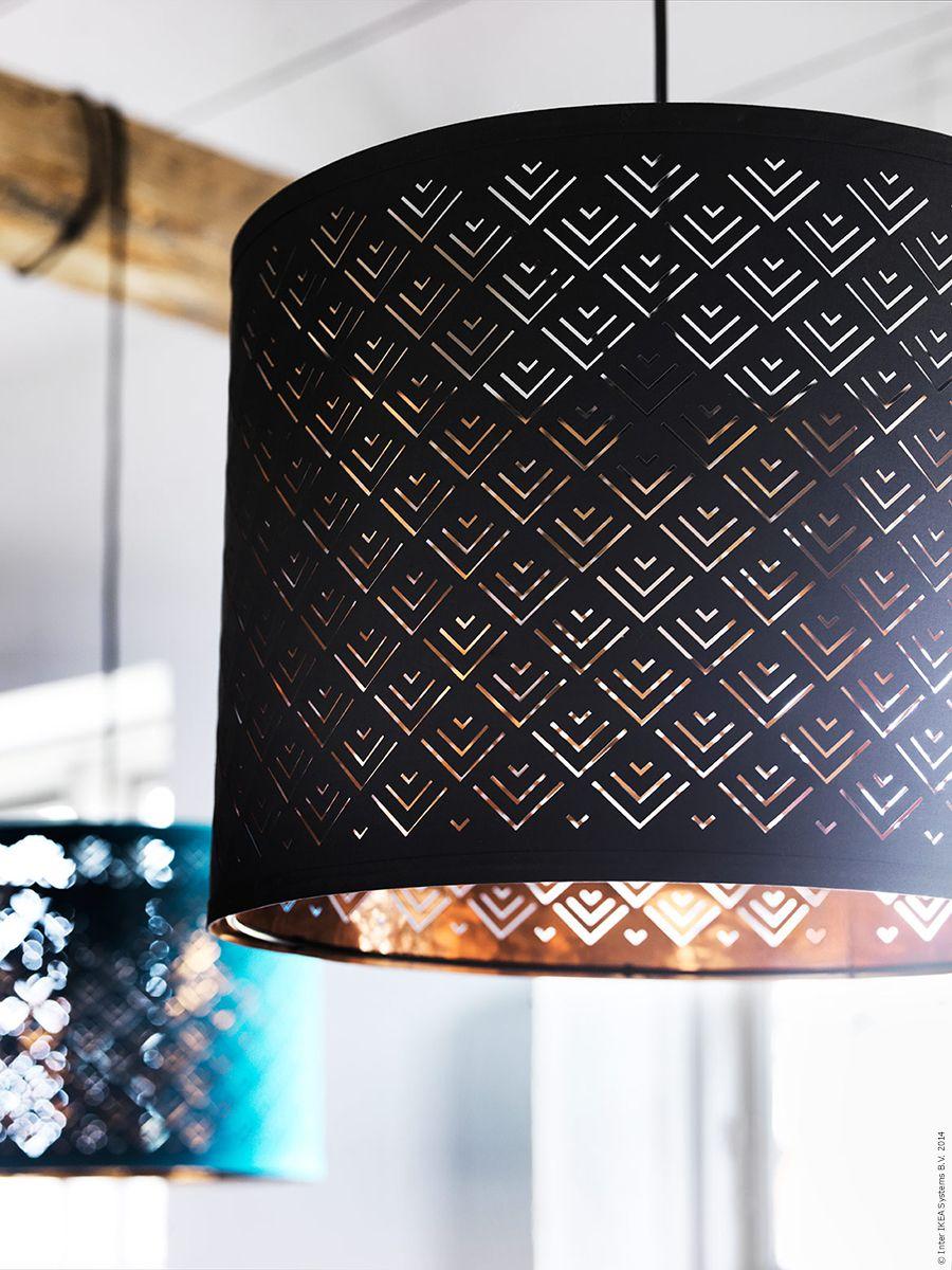 Golvlampa Klabb - NYMÖ skärm kan både hänga i taket som en taklampa eller användas på en golvlampfot som golvlampa