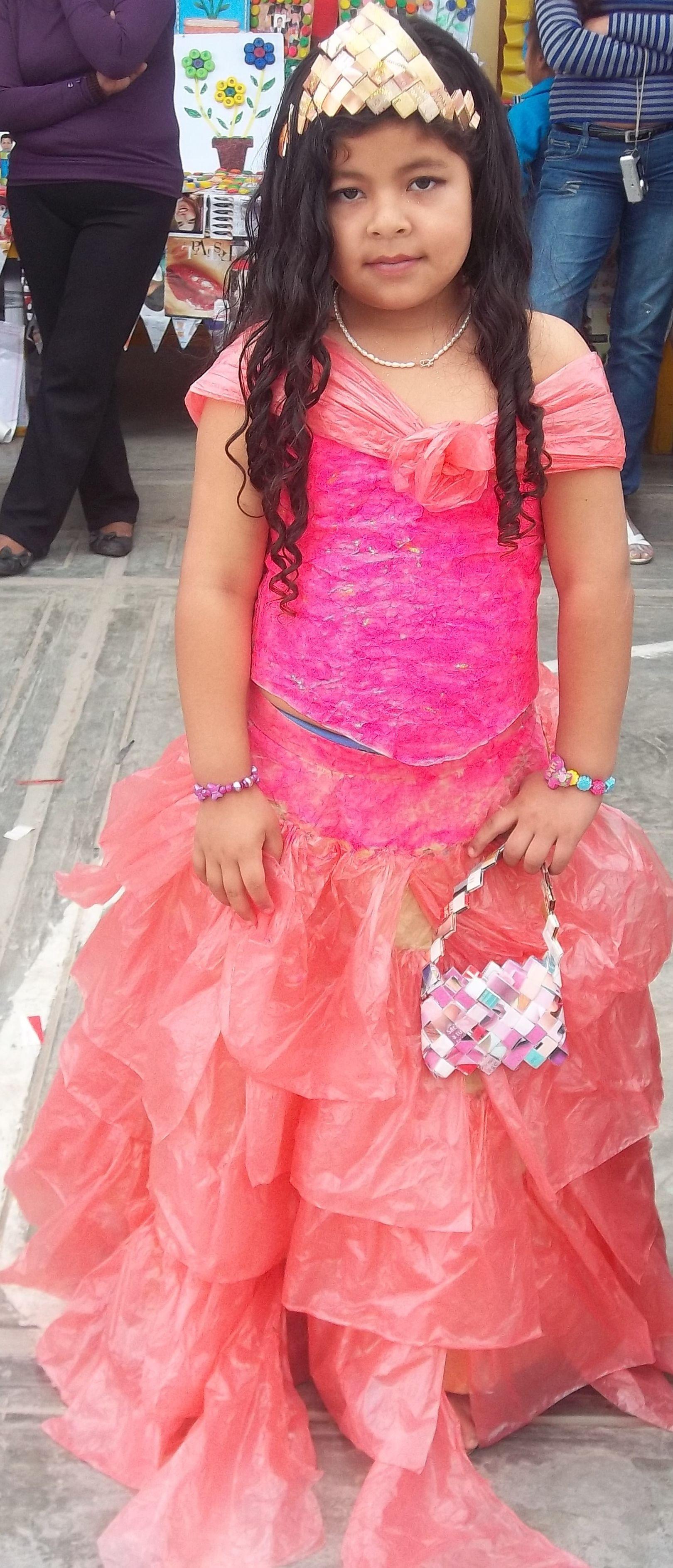 Vestido reciclaje para niña | catrina | Pinterest | Reciclaje, Para ...