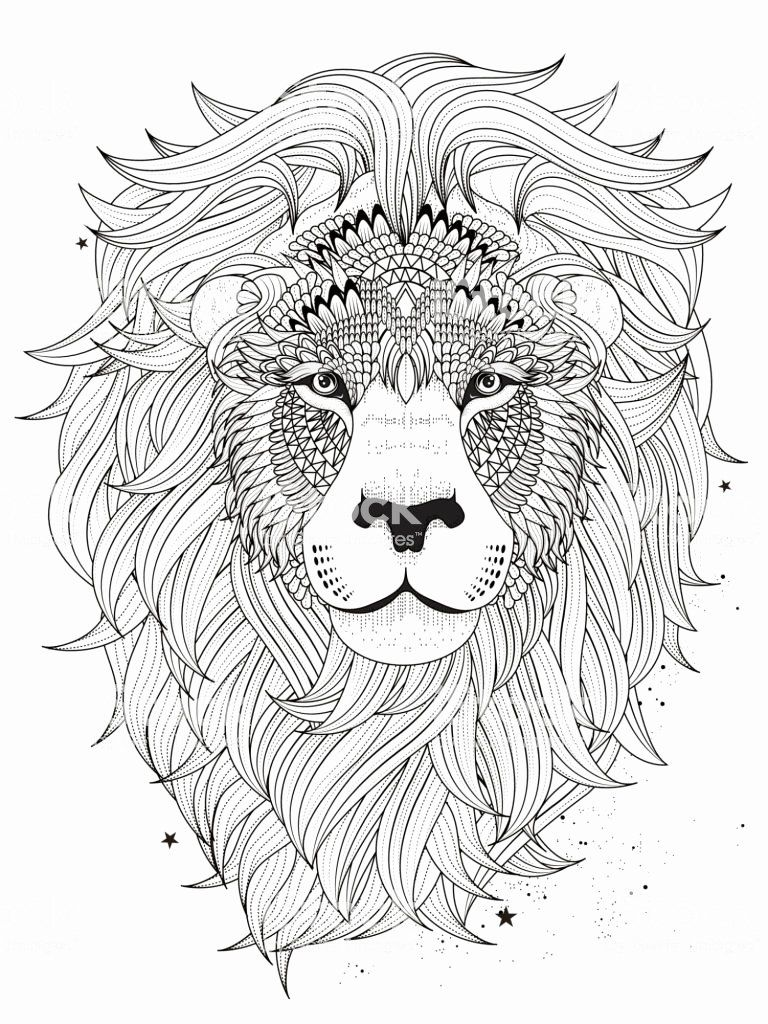 Printable Lion Coloring Pages Best Of Lion Head Coloring Page Stock Vector Art More Of Lion Coloring Pages Mandala Coloring Pages Animal Coloring Pages