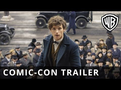 Fantastic Beasts And Where To Find Them Comic Con Trailer Official Warner Bros Uk Fantastic Beasts Beast Film Fantastic Beasts And Where