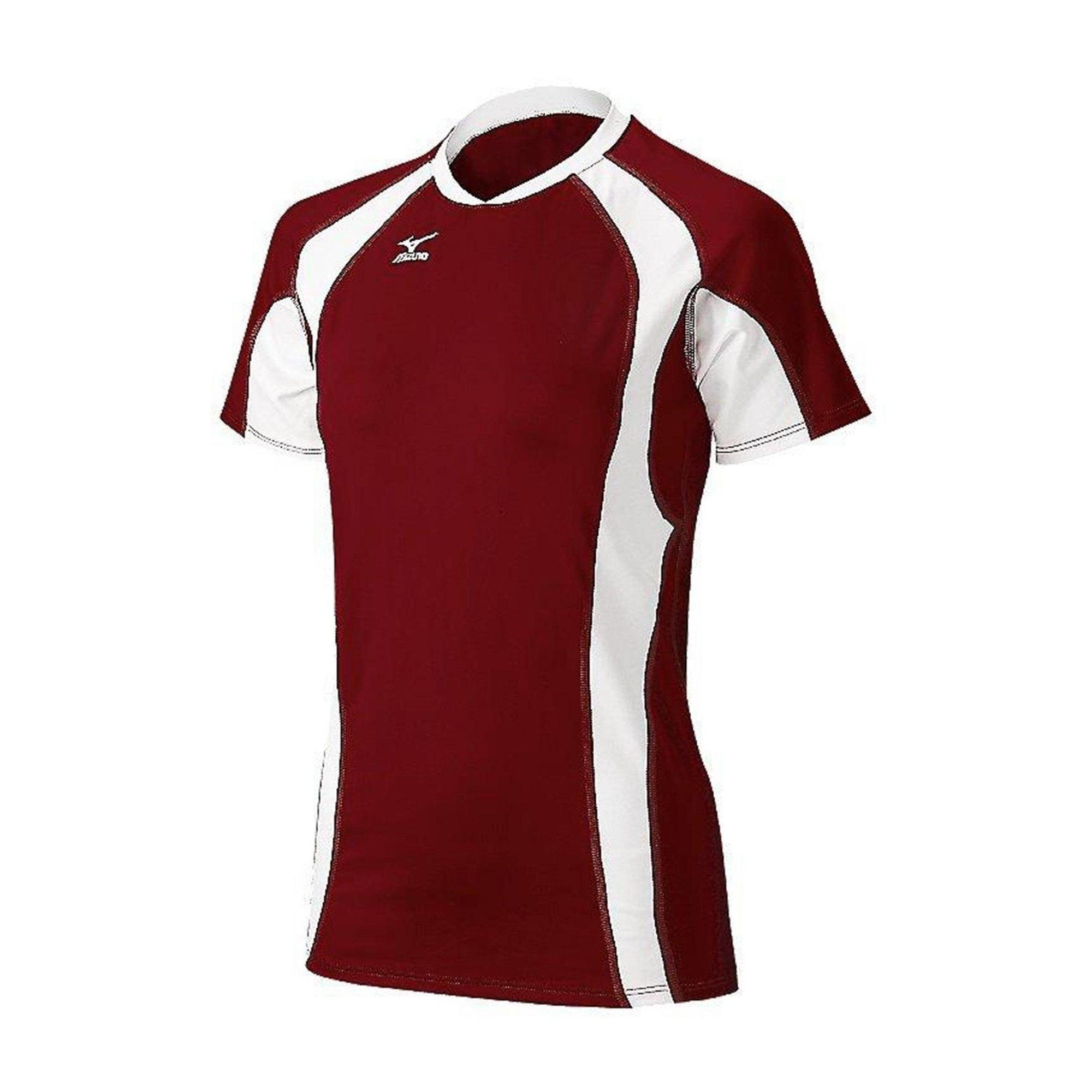 Mizuno Womens Volleyball Apparel Techno Volley V Short Sleeve Jersey 440442 Size Extra Extra Small C Volleyball Jerseys Volleyball Outfits Women Volleyball