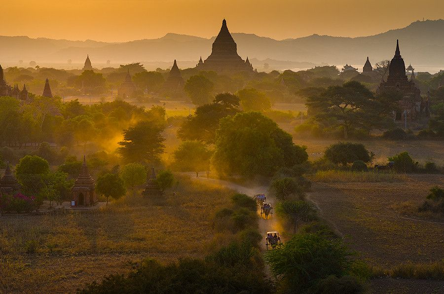 Myanmar by Alexander Jikharev