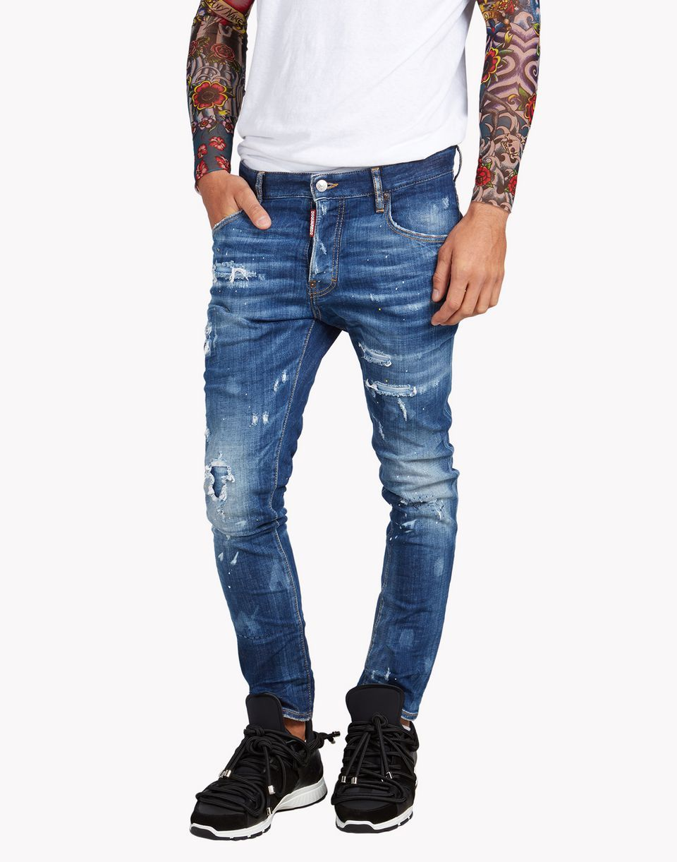 Dsquared2 Skater Jeans メンズ - ファイブポケット - ディースクエアード公式オンラインストア