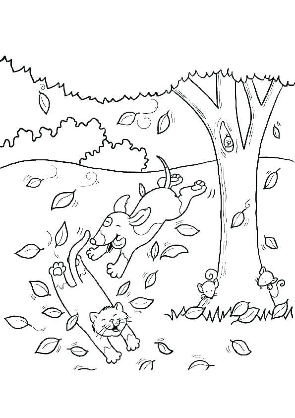 fall theme coloring pages free for kids autumn themed ...