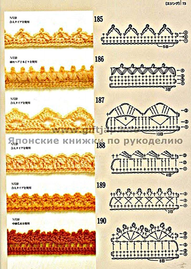 Veja Mais de 300 pontos de Crochê em www.artesanatototal.com | lucia ...