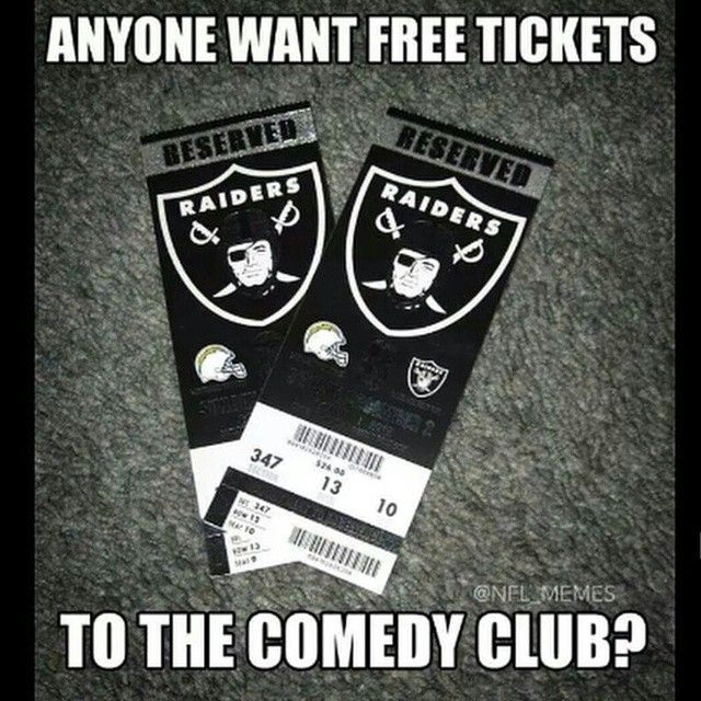 Raider Nation With Images Funny Football Memes