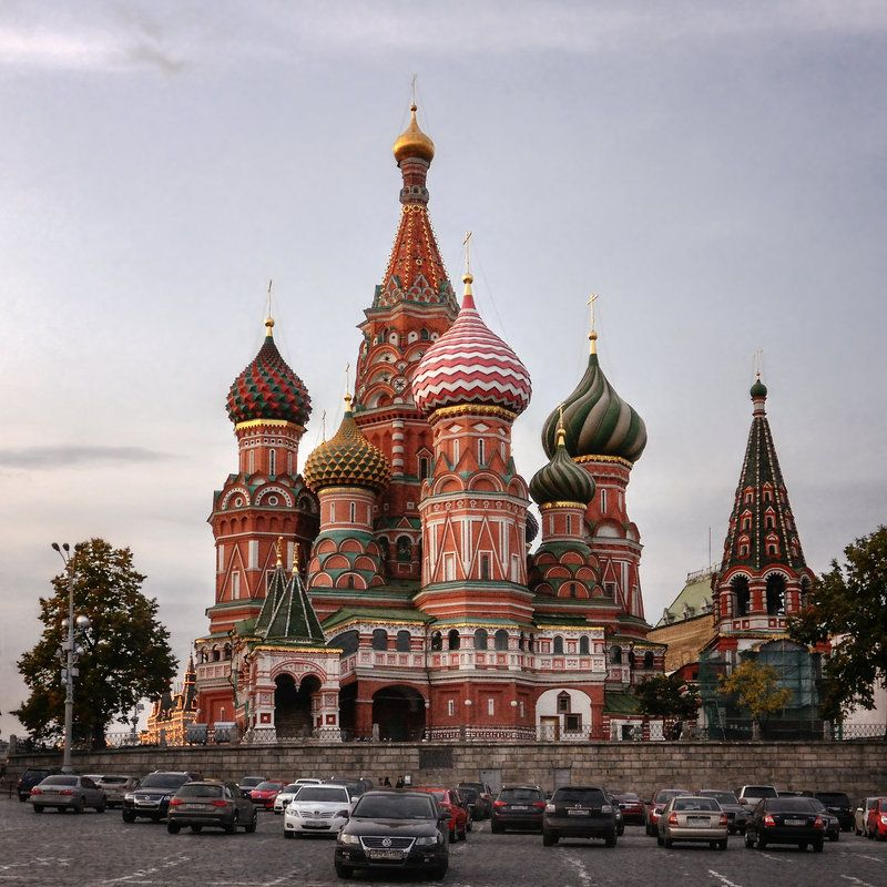 Saint Basil's Cathedral by xrust on DeviantArt   Catedral de san ...