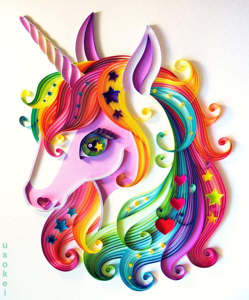 Unicorn by usokei on deviantart id es de dessin for Chambre unicorn