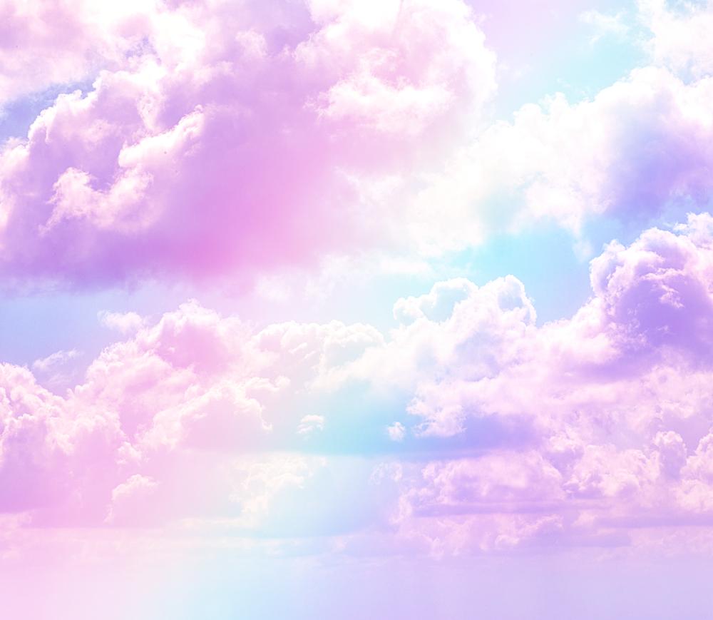 awan ungu aesthetic png