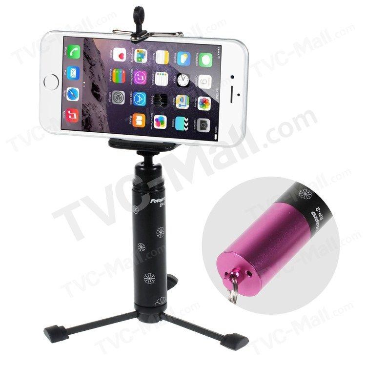 Universal Mini Pocket Tripod Holder for Smartphones Cameras - Rose