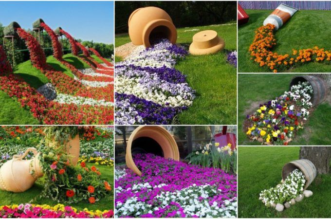 59 best ideas about Garden Pots Spilling Flowers on Pinterest ...