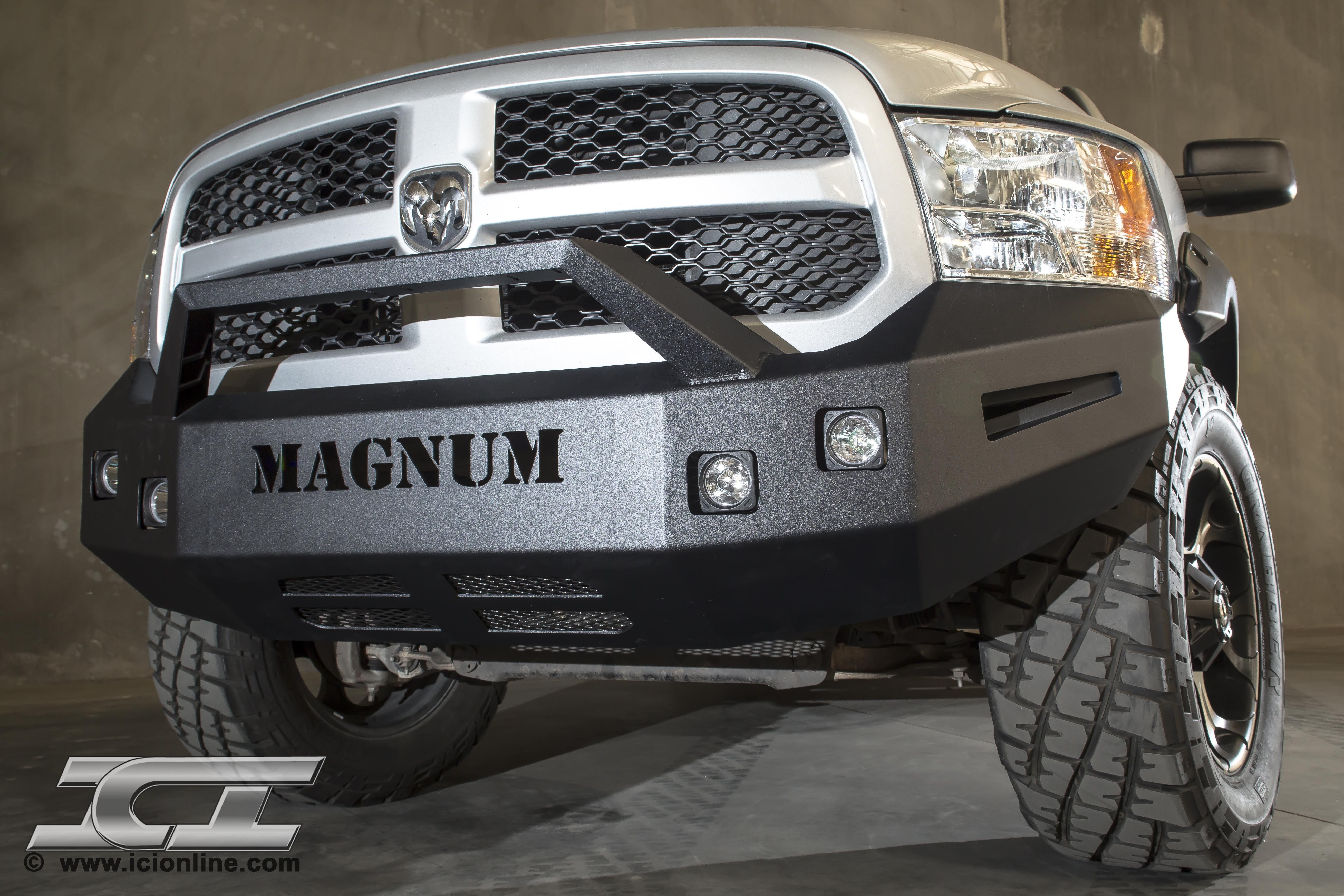 Front Magnum Bumper For 2009 2014 Dodge Ram 1500 Sport And Non Sport Trucks Part Fbm64dgn Truck Accesories Sport Truck Dodge Ram