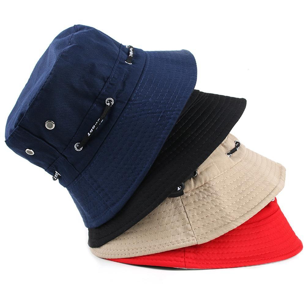 d7b8ed5936b 1 Pcs Unisex Women Men Bucket Hat Boonie Hunting Fishing Outdoor Cap 4  Colors