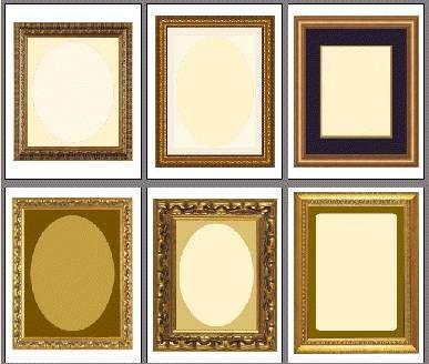 scrapbook frames to print | { exquisite papers } | Pinterest ...