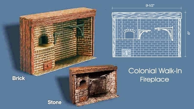 Doll Flies Into Fireplace