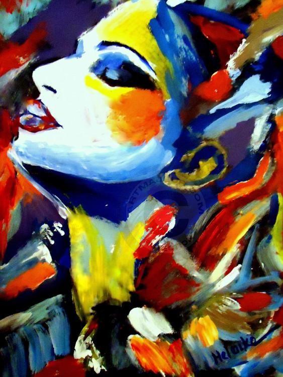 Elation by Helenka Abstract Portraiture