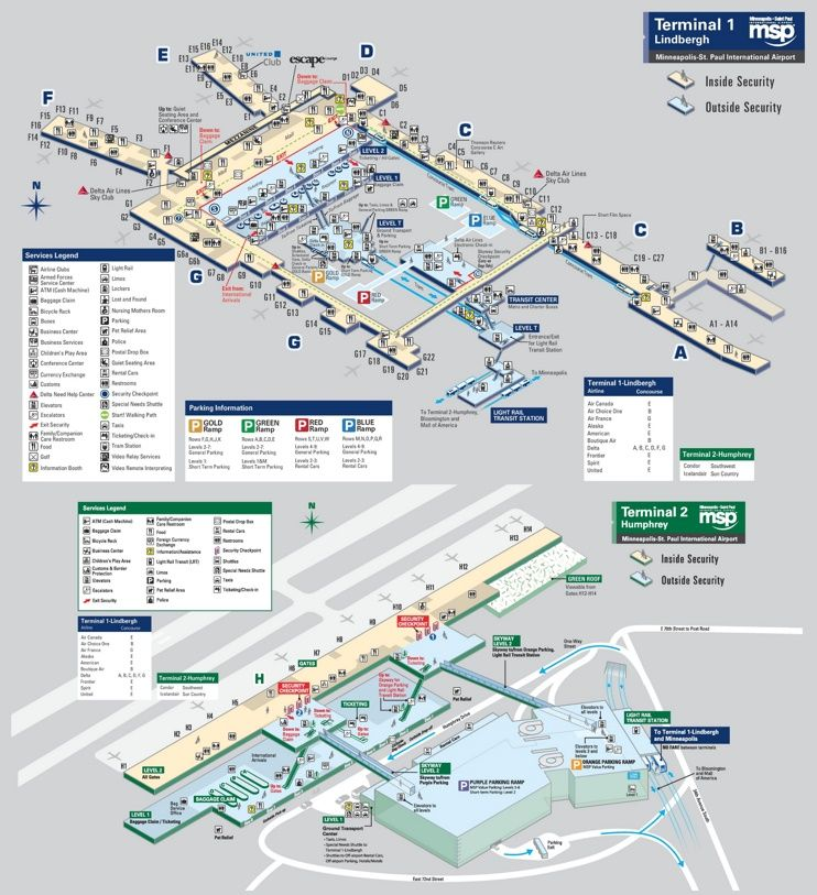 Mpls Airport Map Minneapolis–Saint Paul International Airport map | Montana in 2019