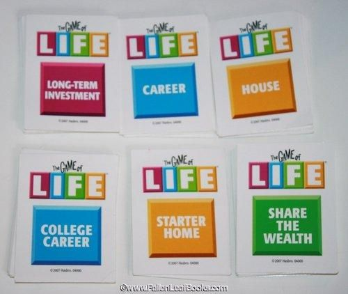 photo relating to Game of Life Career Cards Printable called Video game of daily life card doorway tag strategy for Daily life area topic