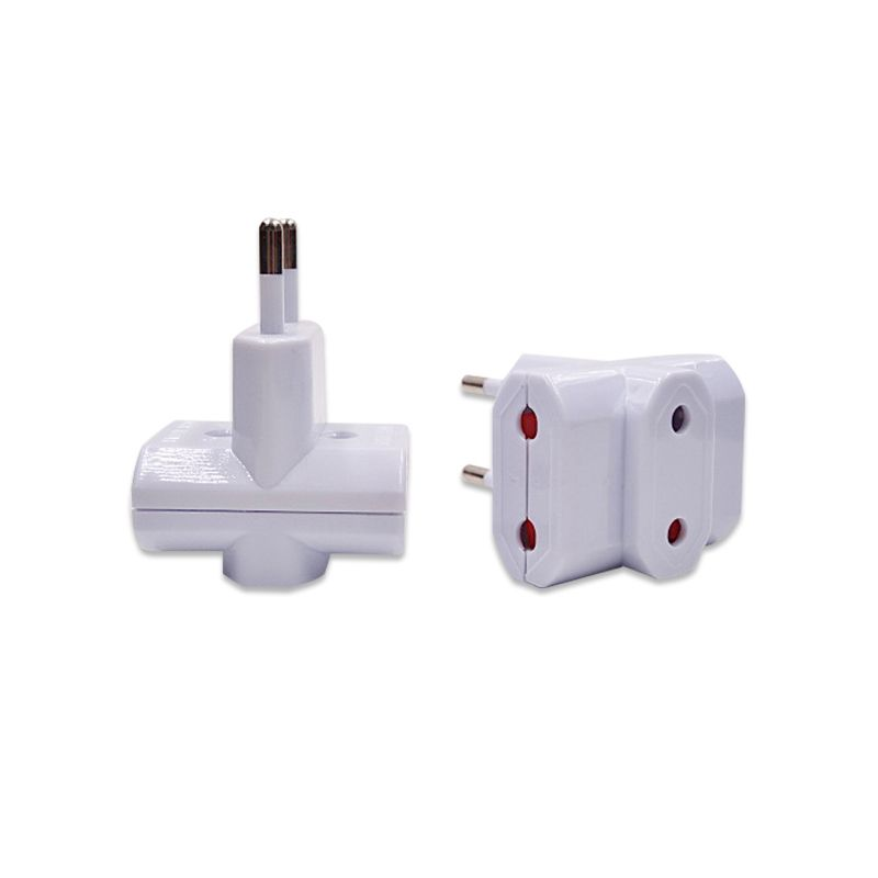 3-way Plug/outlet Eu Europe European Travel Adapter Plug Sockets Eu ...