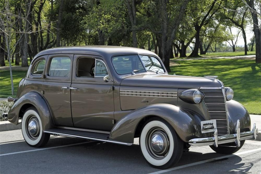 1938 Chevrolet Master Deluxe Sedan Front 3 4 152734 With