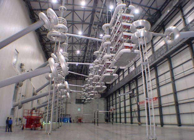 Using Hvdc Technology For Transmitting Electricity Eep Electricity Electrical Projects Electrical Substation