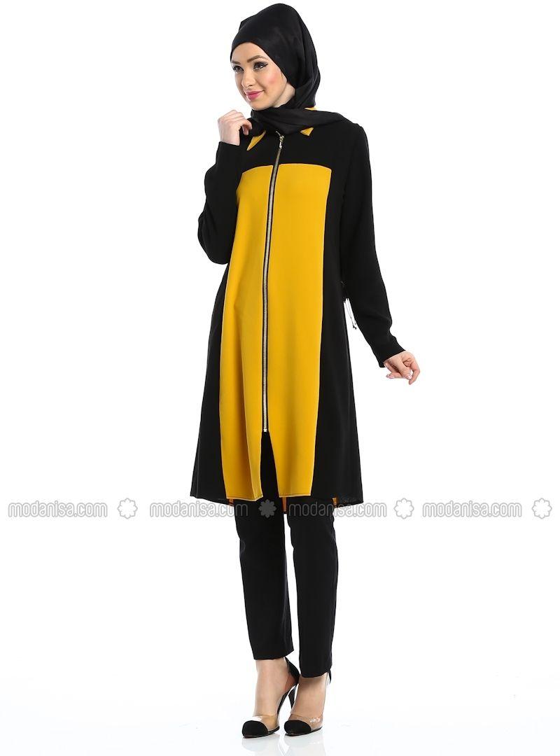 a012e39723a Zipped Tunic - Butik Zehep | Fashion | Tunic tops, Tunic, Dresses
