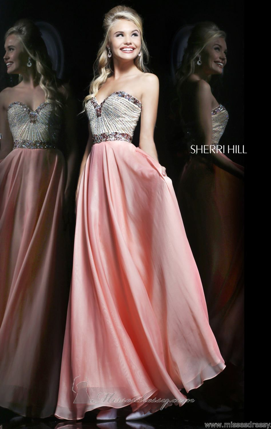 Sherri Hill 1923 by Sherri Hill | Dress up | Pinterest | Vestidos de ...