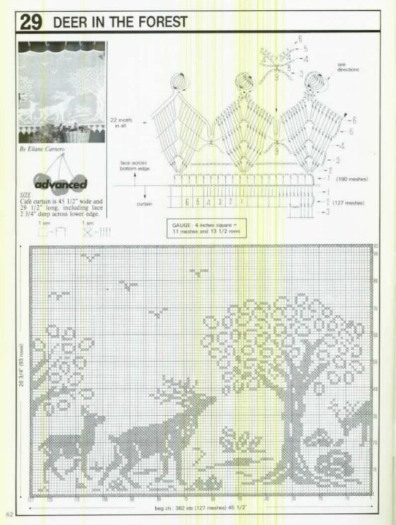 Gallery.ru / Фото #131 - Crochet Filet pour Point de Croix 1 ...