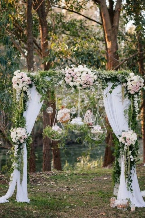 These Beautiful Floral Wedding Arches Will Get You Inspired | Floral ...