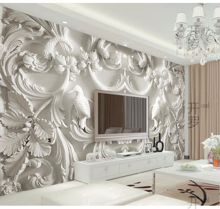Best Custom Large Papel Murals 3D Wall Photo Murals Wallpaper 400 x 300