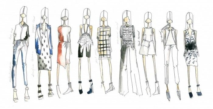 blank   hidden face Fashion Illustration Pinterest Fashion - blank fashion design templates