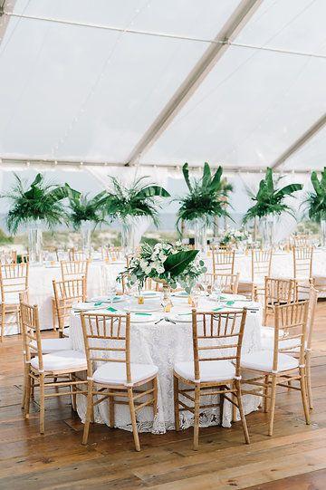 Ritz Carlton Amelia Island Tented Wedding Reception Photos By