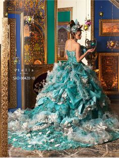 Rococo Bridal Dress