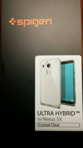 Spigen Google LG Nexus 5X [Ultra Hybrid] Shockproof Case Clear TPU Slim Cover https://t.co/5n1irNYupz https://t.co/drL0px3Qa7