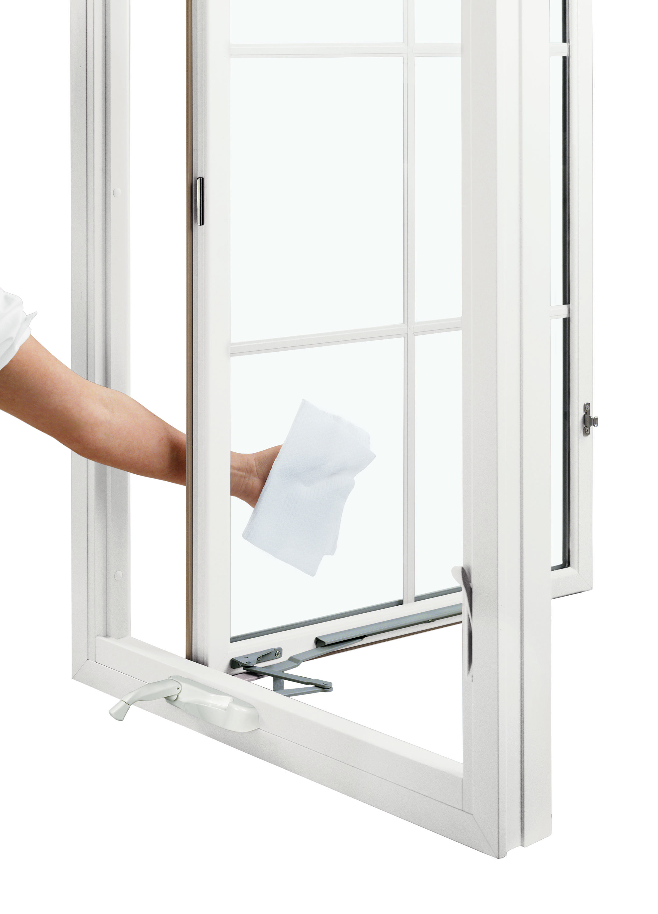 Infinity Casement Window With Easy Wash Hinges Casement Windows Replacement Casement Windows Casement