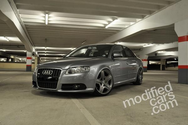 Modified Audi A4 Tdi S Line 2005 Pictures With Images Audi A4