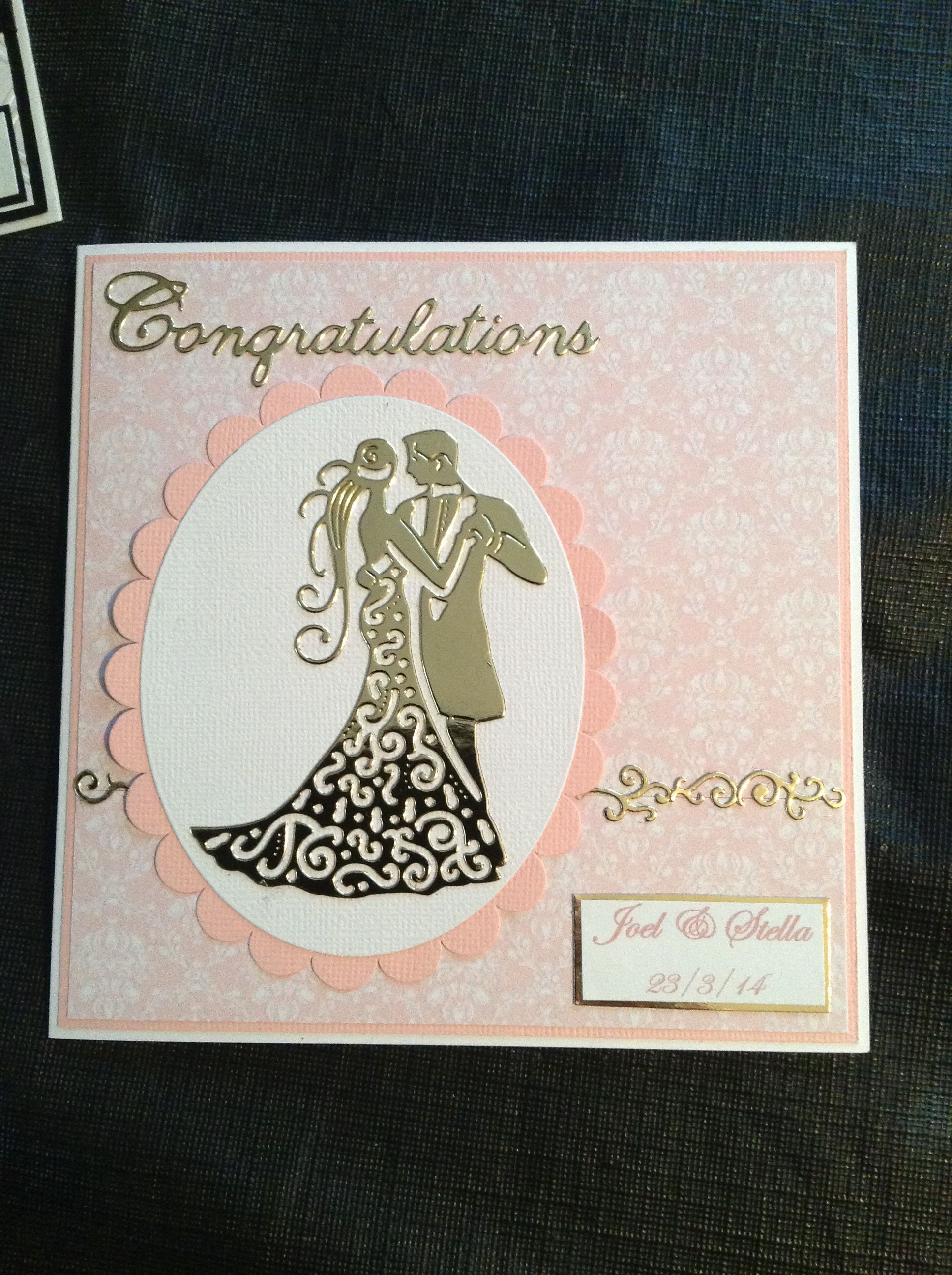 pinbarbara lejeune on cards  wedding cards bridal