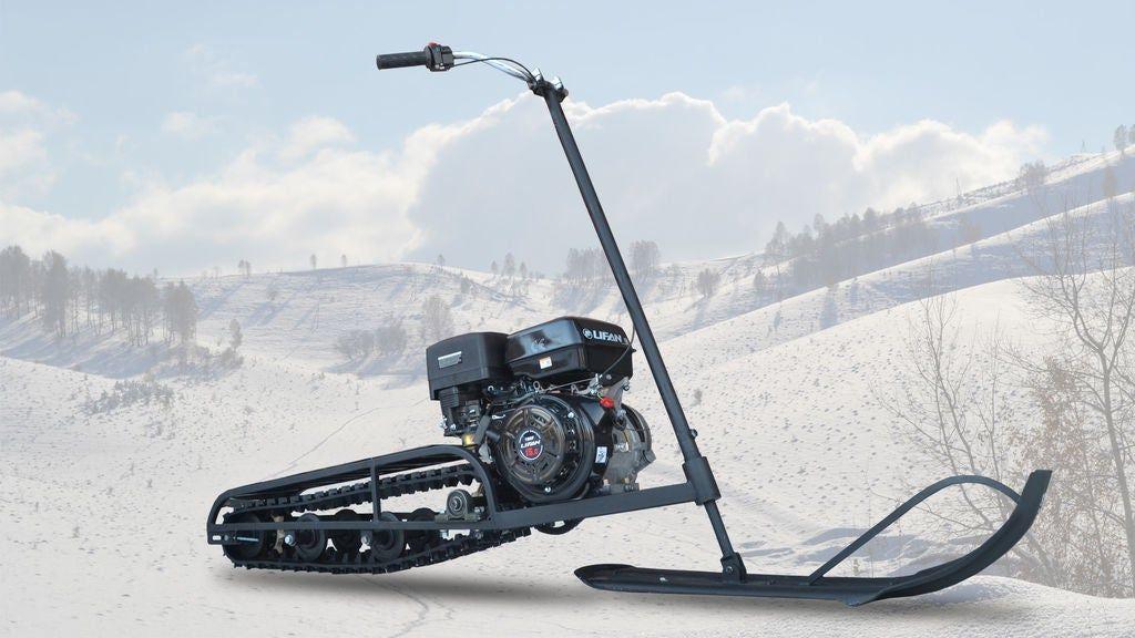 Homemade Snowmobile Mini bike, Snow vehicles, Go kart