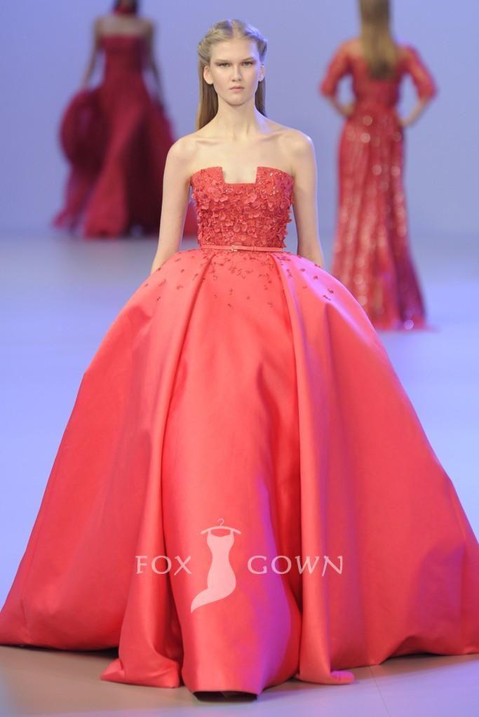 Organza Evening Dress