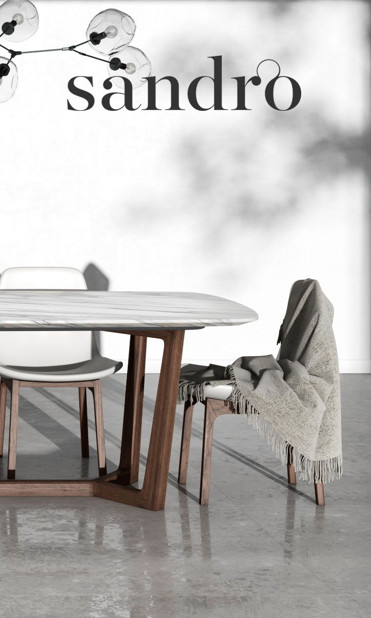 Gorgeous white marble with handsome dark base this is the evelyn dining table furniture