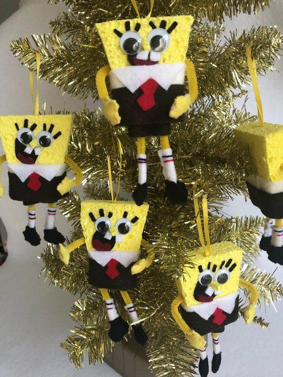 Spongebob Squarepants Felt Christmas Ornament Sponge Bob Child S