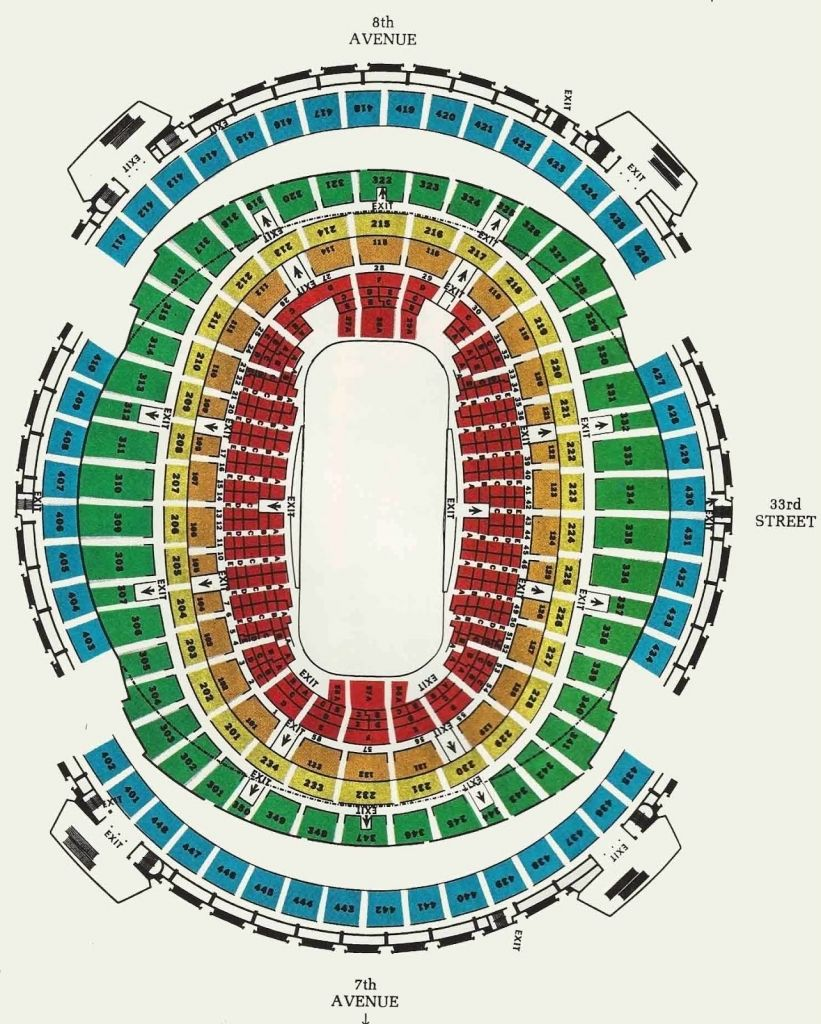The Most Awesome As Well As Lovely Msg Seating Chart Knicks In 2020 With Images Seating Charts Lovely Msg Knicks